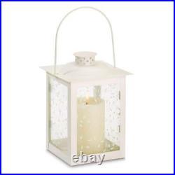 10 shabby White 8 Candle holder Lantern light wedding table centerpiece cheap