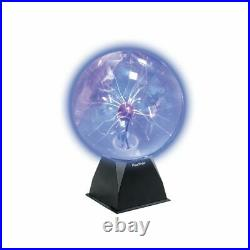 8 Plasma Ball Globe Light Glowing Table Lamp Sound Touch Activated Disco Party