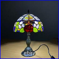 Antique Style TIFFANY Table Desk Lamp Hand Crafted Beautiful Design Glass shade