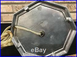 Art Deco FRANKART Nude Figural Lamp Brain Globe Chrome 1986 Reproduction #148