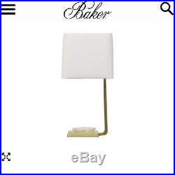 Baker Furniture Barbara Barry Glass Bowl Table Lamp, Brand New Rare Gorgeous