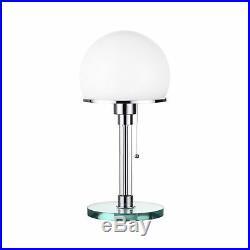 Bauhaus Table Lamp In White