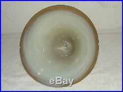 Beautiful JOE CLEARMAN Hand Blown Art Glass Table Lamp 1988 Signed & Numbered