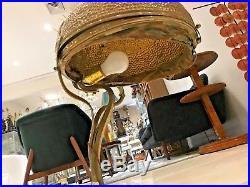 French Art Nouveau Bronze Table Lamp