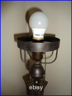 Gobekli Tepe Primal 100 Years Old High Art Deco Lamp, c. 1920