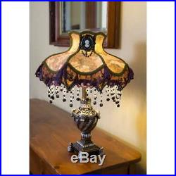 Gracewood Hollow Lord 22 Laced Jewel Victorian-Style Table Lamp