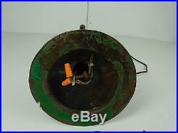 HANDEL # 6327 Table lamp shade & bronzed base c. 1920 Signed shade & base