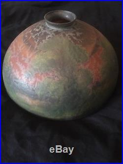 Handel Painted Lamp Shade, Leaded, Slag, Stained Glass, Arts Crafts Lamp Era