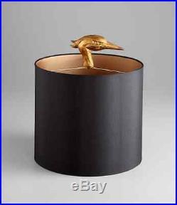 Ibis Table Lamp Heron Crane Bird Whimsical Table Lamp 35H 05206 Cyan Design