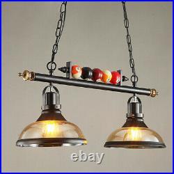Industrial Billiard Pendant Light Chandelier Pool Table Dining Room Ceiling Lamp