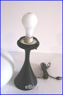 MID-CENTURY MODERN 1960's BILL CURRY Atomic Shape LARGE LAUREL MUSHROOM LAMP