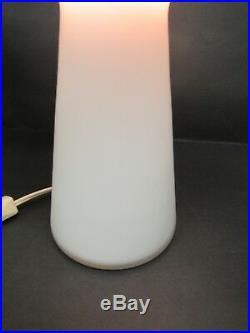 Mid Century Modern Frosted Glass Mushroom Table Lamp Lisa Johansson Pape 12