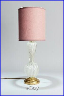 Mid Century Table Lamp attributed to Barovier & Toso Murano