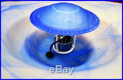 Mist Maker COMPLETE SET Atomizer Humidifier Glass Bowl Fountain Fog Machine LED