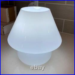 Mushroom Lamp White Glass Table lamp