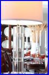 NEW Lauren by Ralph Lauren Large 28 Farrah Crystal Cylinder Table Lamp NWT