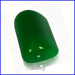 Newrays Replacement Green Glass Bankers Lamp Shade Cover for Desk Lamp