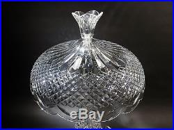 Old Irish WATERFORD Crystal ACHILL 22.5 Table LAMP Crystal Shade
