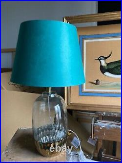 Pair of large vintage style table lamps. Pooky lampshades