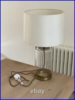Pooky Wisteria Table lamp In Brass And Glass