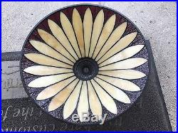 Quoizel Colecction Stained Glass Arts Crafts Mission Lamp 21