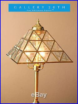 glas piramide lamp
