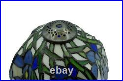 Stained Glass Tiffany style 8 inch Shade Table Bedside Reading lamp