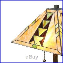 Tiffany Style Mission Table Lamp 16 Shade