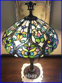 Tiffany Style Stained Glass 25 Table Lamp