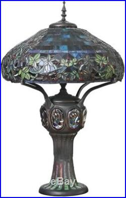 Tiffany Style Table Lamp Stained Glass CLEARANCE Mission Craftsman Victorian