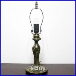 Tiffany style wisteria table lamp light S523 series 18 inch tall green shade E26