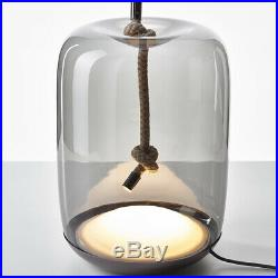 Tom Dixon Glass Table Lamp Bedside Living Study Model Room Bar with Rope Decor