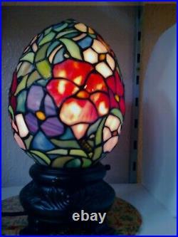 Traditional Tiffany Dragon Egg Table Lamp