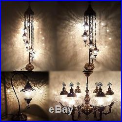 Turkish Moroccan Ottoman Glass Table Floor Chandelier Wall Lamp Light Sconce