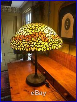 Unique Leaded glass lamp