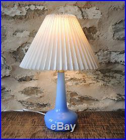 Vintage Le Klint 311 Glass Lamp Holmegaard Esben Klint Mid Century Danish Design