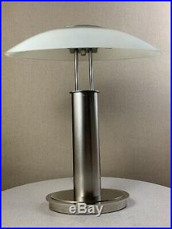 Vintage Mid Century Modern Ufo Touch Dimmer Lamp 1980s Memphis