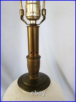 Vintage Murano Italian glass table lamp