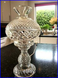 Waterford Crystal Inishmaan Table Lamp 36cm High, PERFECT CONDITION