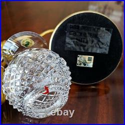 Waterford Crystal Sullivan Hurricane Electric Mini Accent Lamp Table Nightlite
