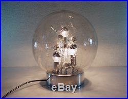 XL DORIA Sputnik FLOOR LAMP Table Light Space Age 1960s